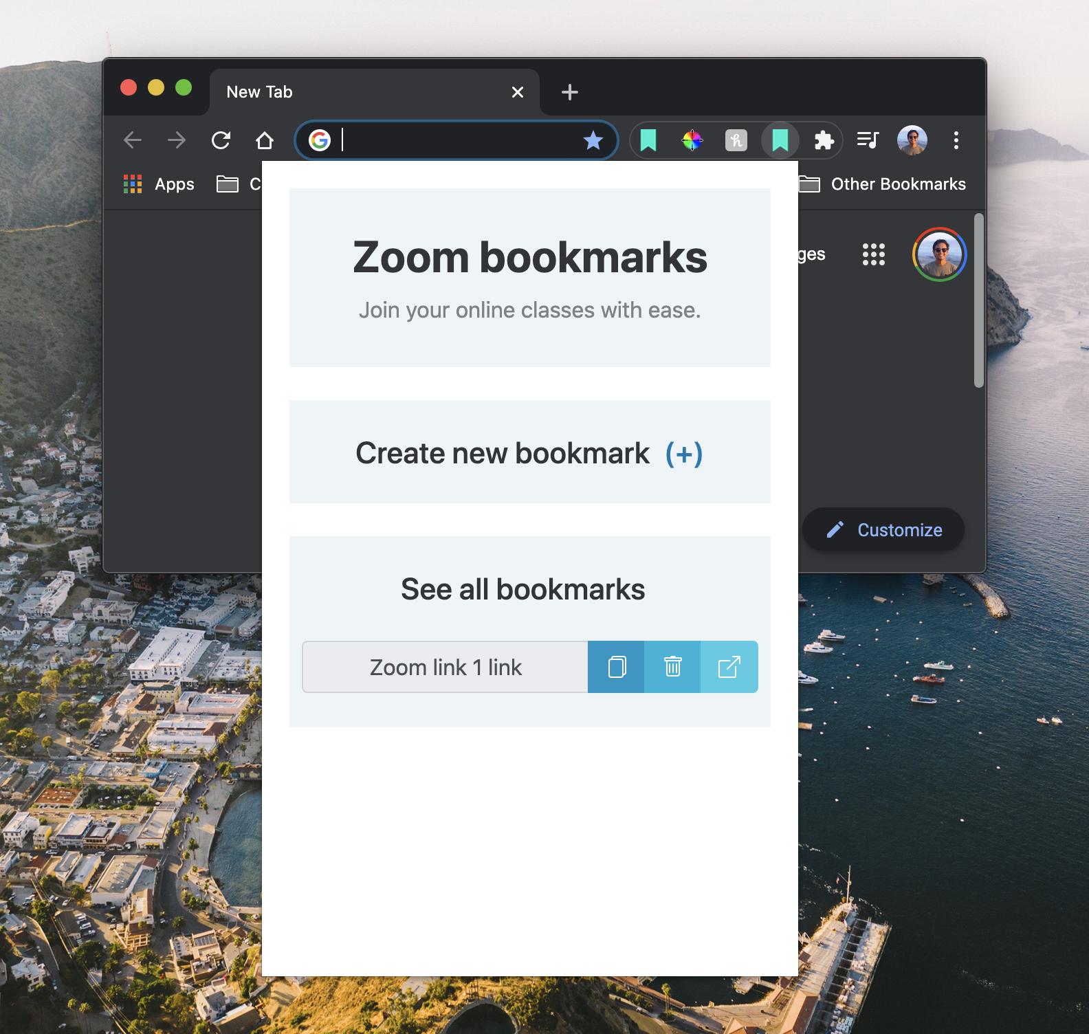 Build a Chrome extension! demo